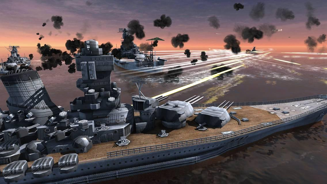 World Warships Combat Screenshot 3
