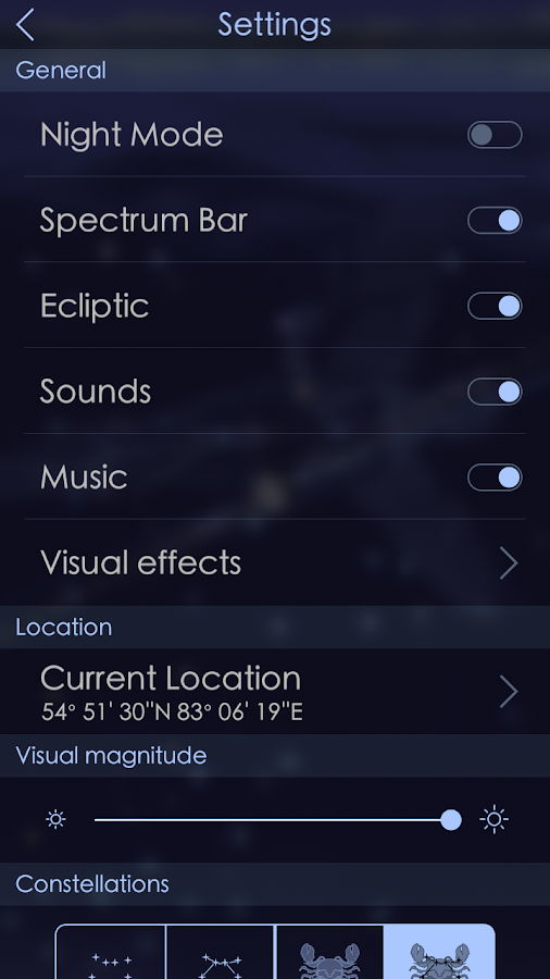 Star Walk 2 - Night Sky Guide Screenshot 2
