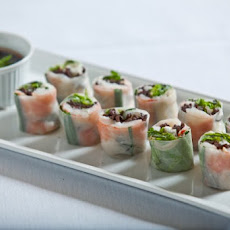 Tiger Shrimp Summer Rolls Recipe