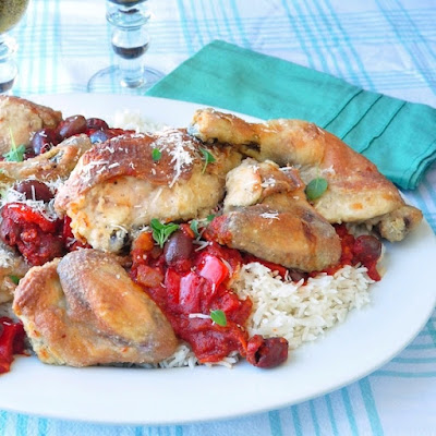 One Hour Shortcut Chicken Cacciatore