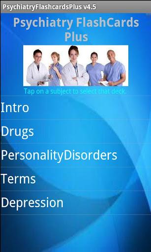 Psychiatry Flashcards Plus