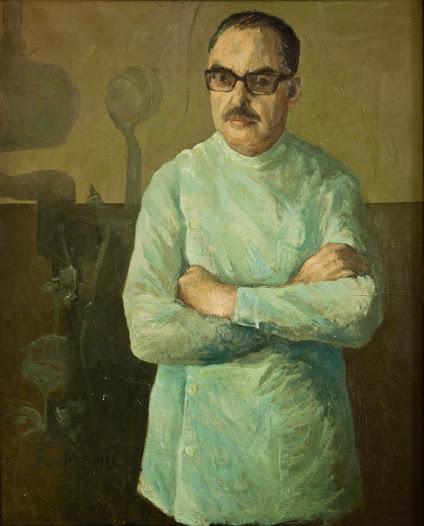 Dr. Lazaro López Rodríguez, miembro de la primera promoción de Estomatología en 1951