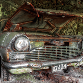 The lost Vauxhall by Sandro Ortolani - Transportation Automobiles ( urban exploration, urbex, ue, hdr, luxembourg )