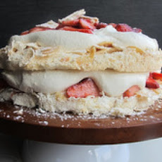 Strawberries and Cream Pavlova