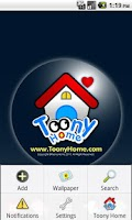 Screenshot of Toony Home