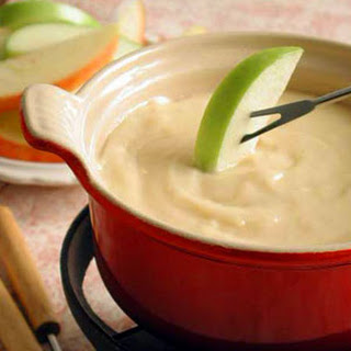 Cheese Fondue with Apples