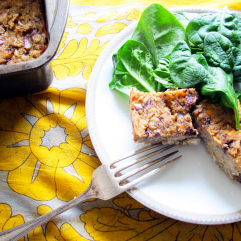 Chickpea and Portobello Meatless Meatloaf