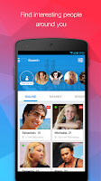 Screenshot of MiuMeet Chat Flirt Dating App