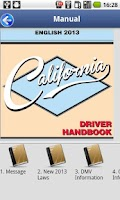 Screenshot of Driver License Test California