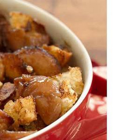 Apple-​Caramel Bread Pudding