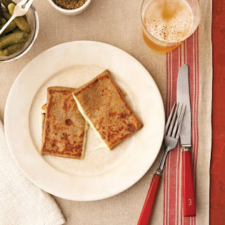 Crepes with Cantal Cheese