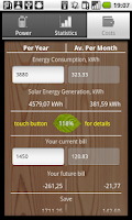 Screenshot of SolarMeter solar panel planner