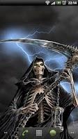 Screenshot of Dark Death Live Wallpaper