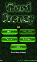 Screenshot of Word Frenzy Free ™