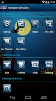 Screenshot of Handcent 6 Spooky Halloween