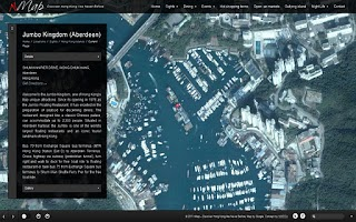 Screenshot of nMapWorld HK Hong Kong Guide