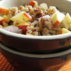 Farro, Apple and Pecan Salad