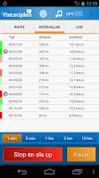 Screenshot of Fietstijden.nl - GPS fiets-app
