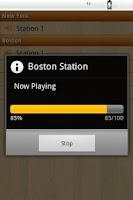 Screenshot of Pro Hoops Radio