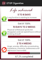 Screenshot of STOP Cigarettes - Quit smoking