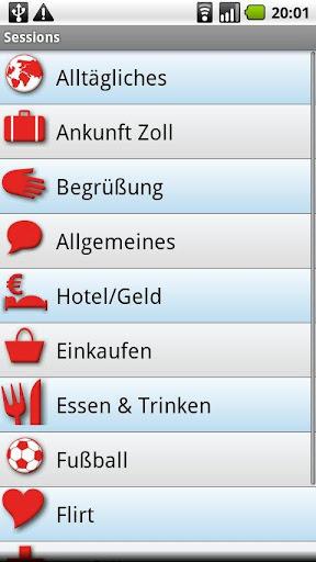 玩免費旅遊APP|下載iSayHello ドイツ語 - 英語 app不用錢|硬是要APP