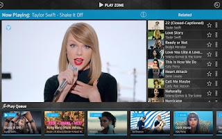 Screenshot of VIDZONE - Free HD Music Videos
