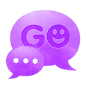 短信主題紫紫 GO SMS Theme Purple Vio icon