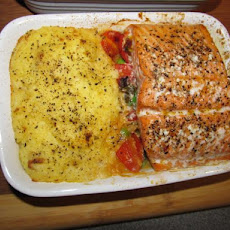 Garden Patch Salmon Dinner