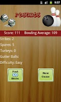 Screenshot of Ten Pin Bowling