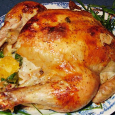 Roasted Chicken A'la Orange