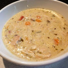 Creamy Chicken and Rice Soup by Paula Deen