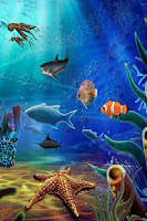 Screenshot of Aqua Life Free Live Wallpaper