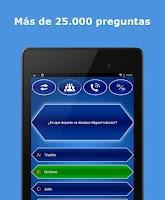 Screenshot of Millonario Quiz Español