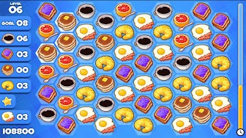 Screenshot of Breakfast Swipe HD FREE