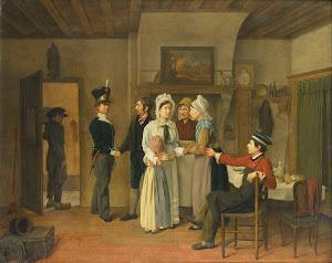 RIJKS: Charles van Beveren: painting 1828