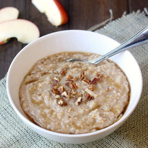Overnight Steel-Cut Oats with Almond Butter & Honey Recipe | Yummly