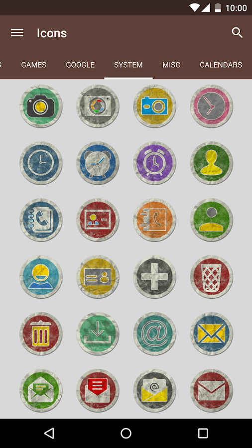 Rugo - Icon Pack Screenshot 7