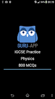 Screenshot of IGCSE Physics: Guru-App GCSE