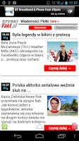 Screenshot of Polish Newspapers