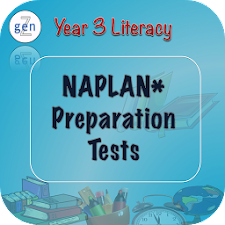Naplan Y3 Literacy : Tablet