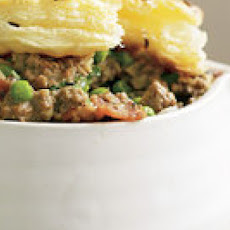 Ground Beef Not-Potpies with Caraway-Salt Crust