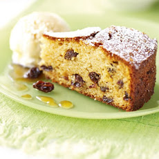 Almond Raisin Cake With Sherry