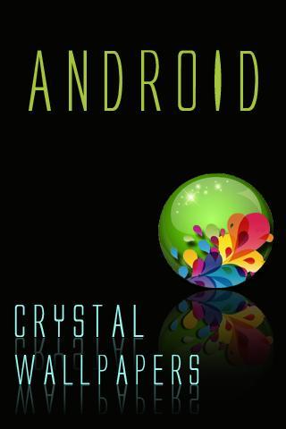 水晶Android的壁紙