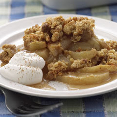 Apple 'n Peanut Crisp