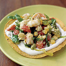 Shrimp-Avocado Tostadas