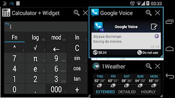 Screenshot of Quickly Notification Shortcuts
