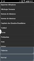 Screenshot of Caça Palavras Brasileiro