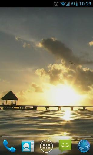Sunny Lagoon Waves Live HD
