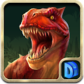 APK Game Dinosaur War for BB, BlackBerry