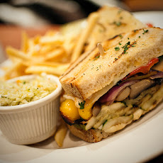 California Grilled Vegetable Sandwich